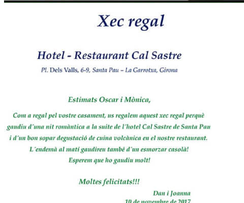 Xec regal Casament